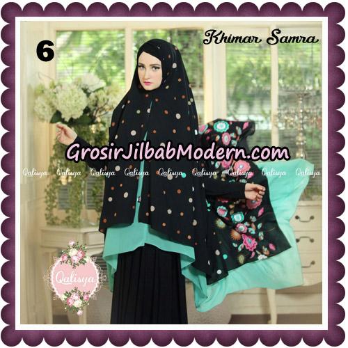 Jilbab Syari Khimar Samra Original by Qalisya Hijab Brand NO 6
