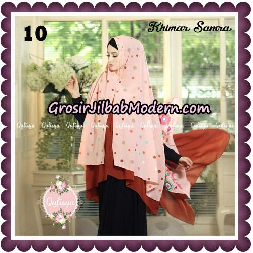 Jilbab Syari Khimar Samra Original by Qalisya Hijab Brand No 10