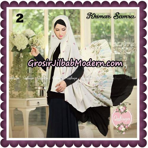 Jilbab Syari Khimar Samra Original by Qalisya Hijab Brand No 2