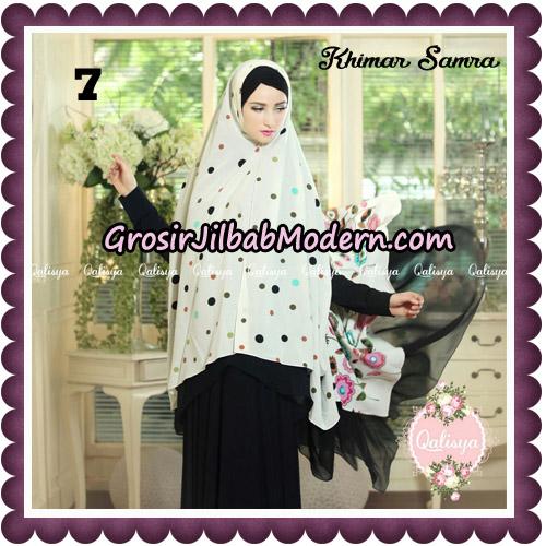 Jilbab Syari Khimar Samra Original by Qalisya Hijab Brand No 7