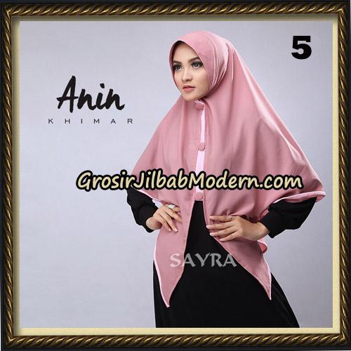 Jilbab Instant Anin Khimar Original By Sayra Hijab Brand No 5