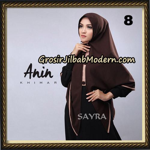 Jilbab Instant Anin Khimar Original By Sayra Hijab Brand No 8