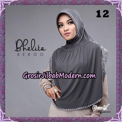 Jilbab Instant Bhelita Bergo Original By Oneto Hijab Brand No 12