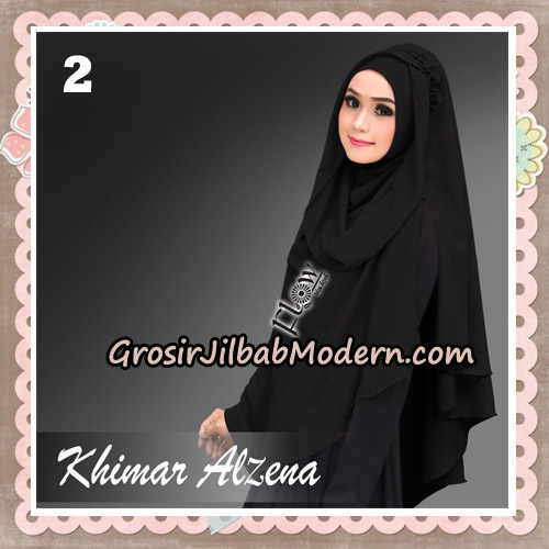 Jilbab Instant Cantik Khimar Alzena Original By Flow Idea No 2