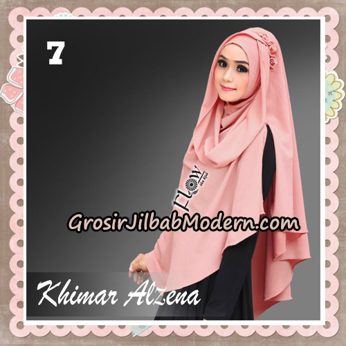 Jilbab Instant Cantik Khimar Alzena Original By Flow Idea No 7