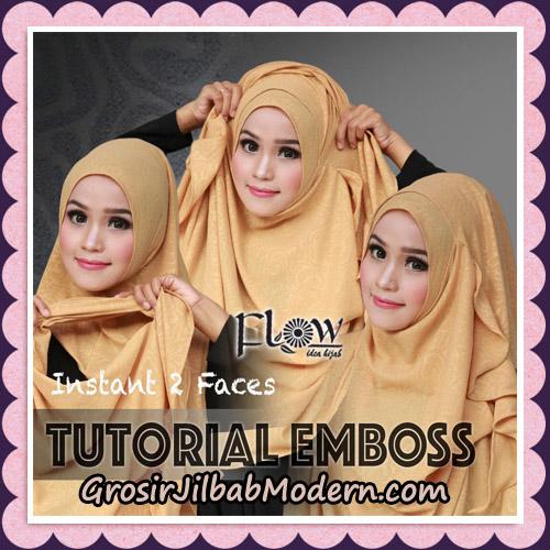 jilbab-instant-cantik-2-faces-emboss-original-by-flow-idea-cara-pemakaian