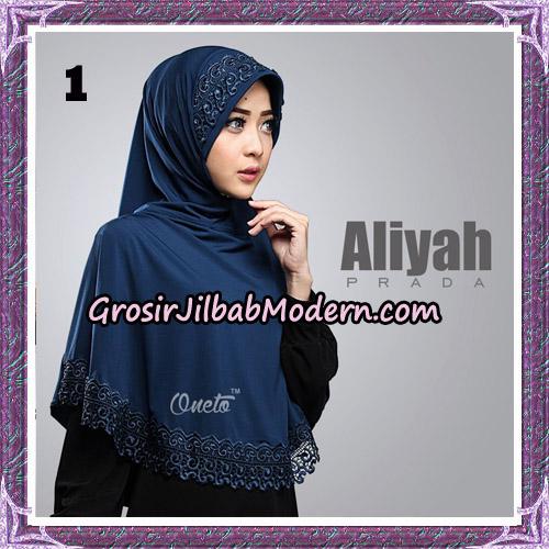 Jilbab Cantik Aliyah Prada Original By Oneto Hijab Brand No 1