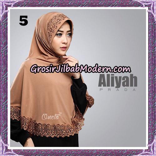 Jilbab Cantik Aliyah Prada Original By Oneto Hijab Brand No 5