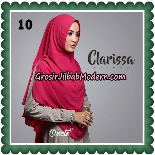 Jilbab Cantik Clarissa Khimar Original By Oneto Hijab No 10