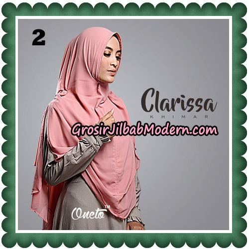 Jilbab Cantik Clarissa Khimar Original By Oneto Hijab No 2