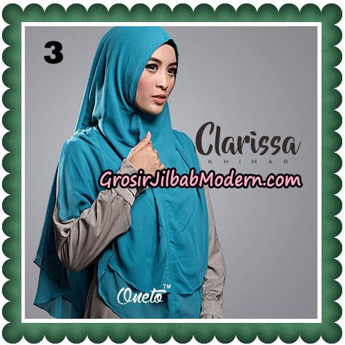 Jilbab Cantik Clarissa Khimar Original By Oneto Hijab No 3