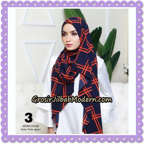 Jilbab Instant Cantik Farha Square Original by Ixora Hijab Brand No 3