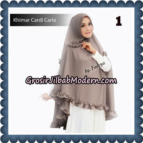 Jilbab Khimar Cardi Carla Original By Fadeya Brand No 1
