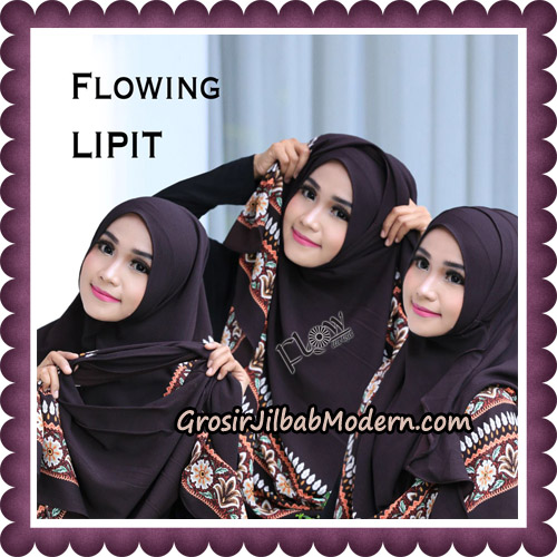 Jilbab Cantik Instant Flowing Lipit Original By Flow Idea Hijab - Tutorial