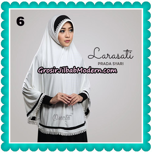 Jilbab Cantik Prada Syari Larasati Original By Oneto Hijab Brand No 6