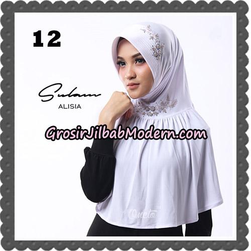 Jilbab Cantik Sulam Alisia Original By Oneto Hijab Brand No 12
