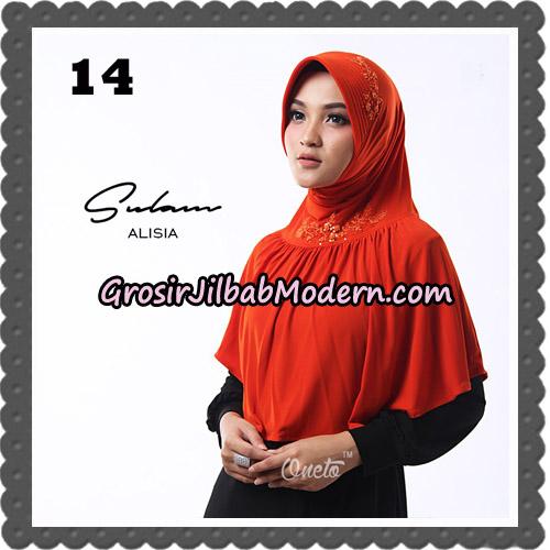Jilbab Cantik Sulam Alisia Original By Oneto Hijab Brand No 14