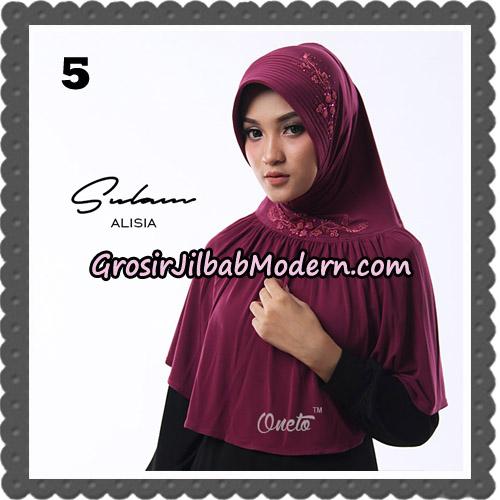 Jilbab Cantik Sulam Alisia Original By Oneto Hijab Brand No 5