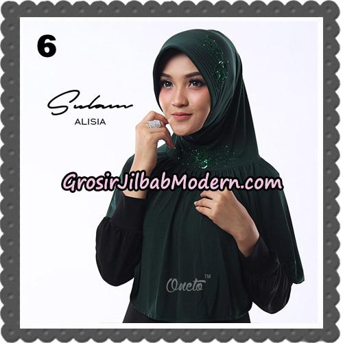 Jilbab Cantik Sulam Alisia Original By Oneto Hijab Brand No 6