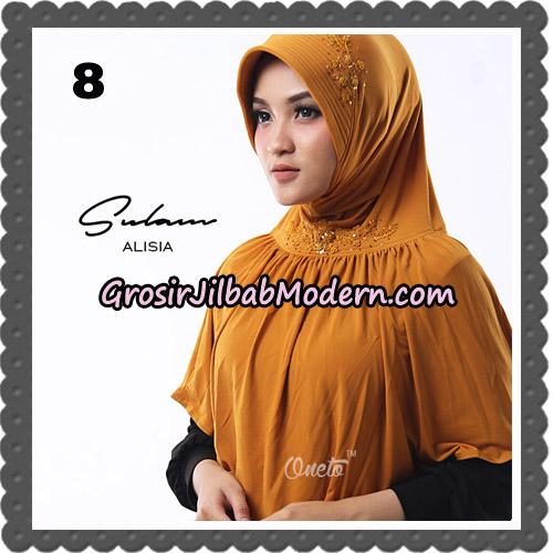 Jilbab Cantik Sulam Alisia Original By Oneto Hijab Brand No 8