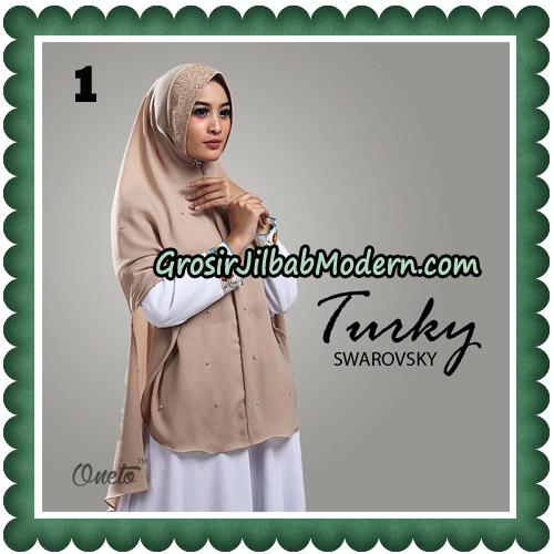 Jilbab Cantik Turky Swarovsky Original By Oneto Hijab No 1