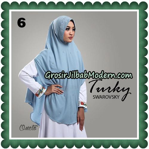 Jilbab Cantik Turky Swarovsky Original By Oneto Hijab No 6