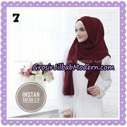 Jilbab Instant Salsa 2 Original By Narinda Hijab Brand No 7