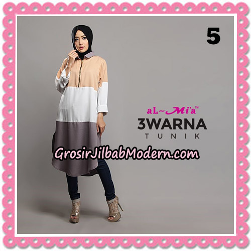 Tunik Cantik 3 Warna Original By AlMia Brand No 5