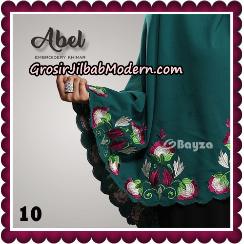 Jilbab Cantik Abel Embroidery Khimar Original By Bayza Hijab Brand No 10