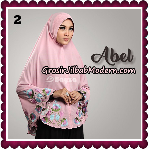Jilbab Cantik Abel Embroidery Khimar Original By Bayza Hijab Brand No 2