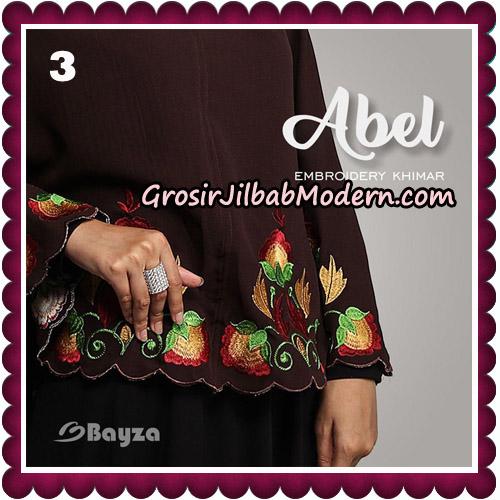 Jilbab Cantik Abel Embroidery Khimar Original By Bayza Hijab Brand No 3
