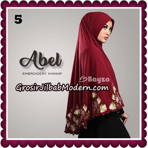 Jilbab Cantik Abel Embroidery Khimar Original By Bayza Hijab Brand No 5