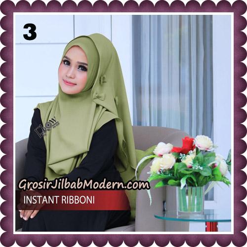Jilbab Cantik Instant Ribboni Original By Flow Idea Hijab No 3