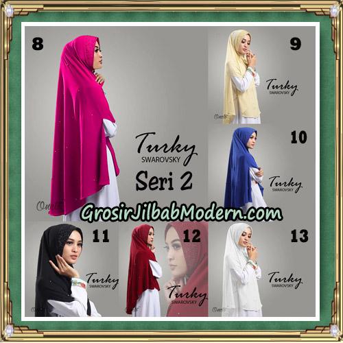 Jilbab Cantik Turky Swarovsky Seri 2 Original By Oneto Hijab