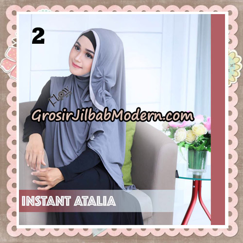 Jilbab Instant Atalia Original By Flow Idea Hijab No 2