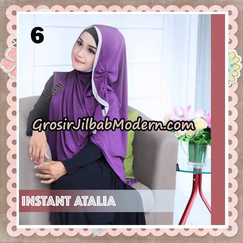Jilbab Instant Atalia Original By Flow Idea Hijab No 6