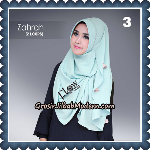 Jilbab Instant Zahrah 2 Loops Original By Flow Idea Hijab No 3