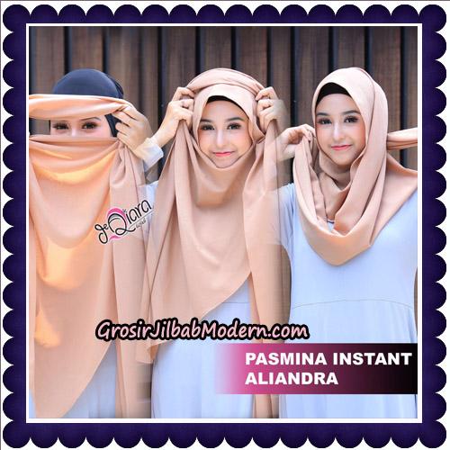 Jilbab Pashmina Instant Aliandra Original By deQiara Hijab Brand - Tutorial