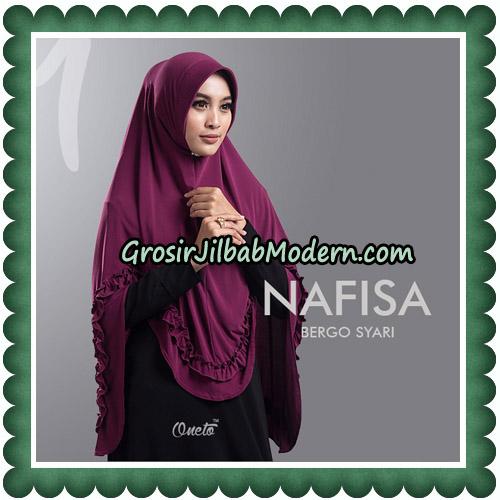 Jilbab Cantik Nafisa Bergo Syari Original By Oneto Hijab No 1