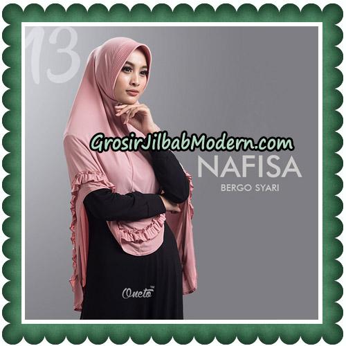 Jilbab Cantik Nafisa Bergo Syari Original By Oneto Hijab No 13