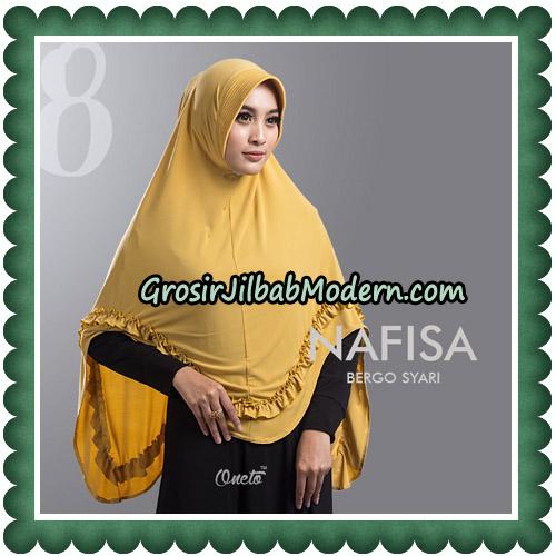 Jilbab Cantik Nafisa Bergo Syari Original By Oneto Hijab No 8