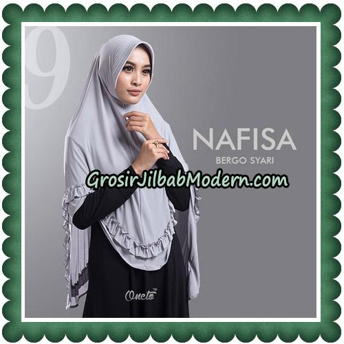 Jilbab Cantik Nafisa Bergo Syari Original By Oneto Hijab No 9