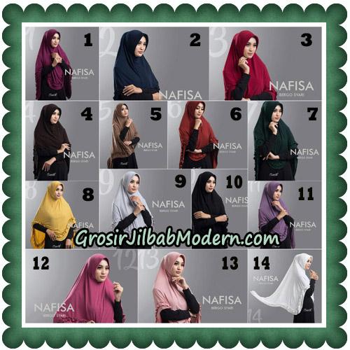 Jilbab Cantik Nafisa Bergo Syari Original By Oneto Hijab