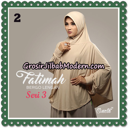 Jilbab Instant Cantik Bergo Lengan Fatimah Seri 3 Support Oneto No 2