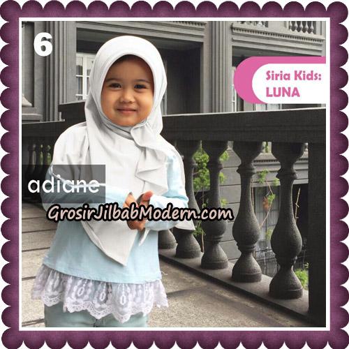 Jilbab Instant Siria Kids Luna Original By Adiane Hijab No 6