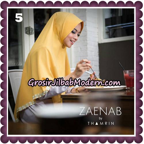 Jilbab Cantik Khimar Zaenab Original by Thamrin Hijab Brand No 5