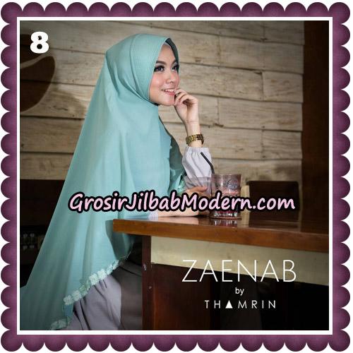 Jilbab Cantik Khimar Zaenab Original by Thamrin Hijab Brand No 8
