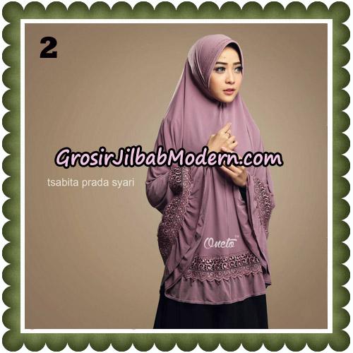 Jilbab Cantik Tsabita Prada Syari Original By Oneto Hijab Brand No 2