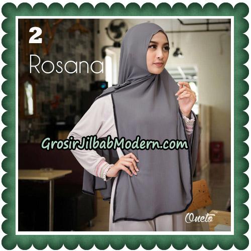 Jilbab Instant Rosana Original By Oneto Hijab Brand No 2