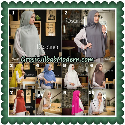 Jilbab Instant Rosana Original By Oneto Hijab Brand